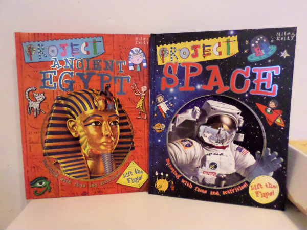 project space and project ancient egypt books