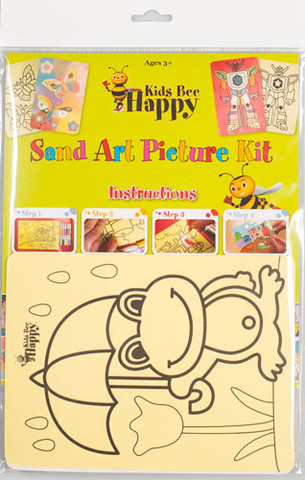 making sand art kits