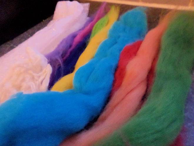 wet felting supplies merino wool