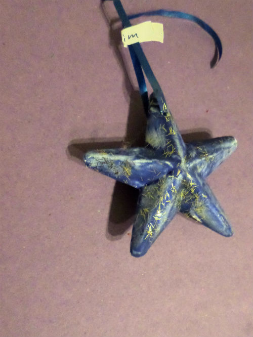 winter crafts star