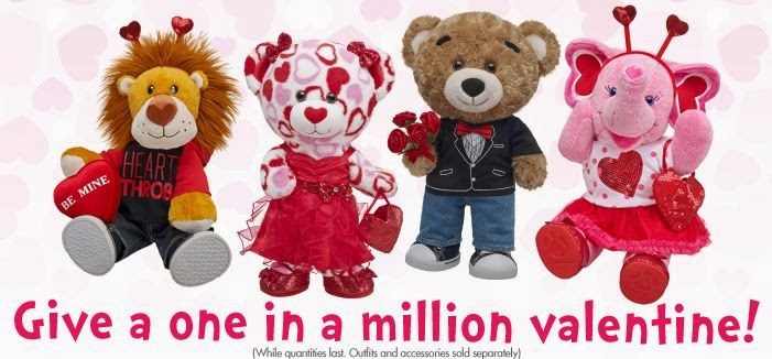 build-a-bear valentines day