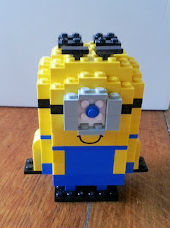 how to make a lego minion