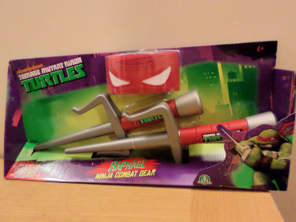 Teenage Mutant Ninja Turtles toys Raphael Ninja combat gear