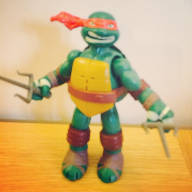 Teenage Mutant Ninja Turtles toys power sound fx figure