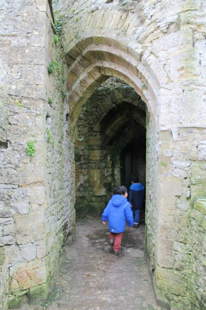 exploring doorways in chepstow castle