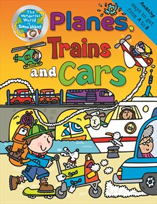 the wonderful world of simon abbott planes trains and cars