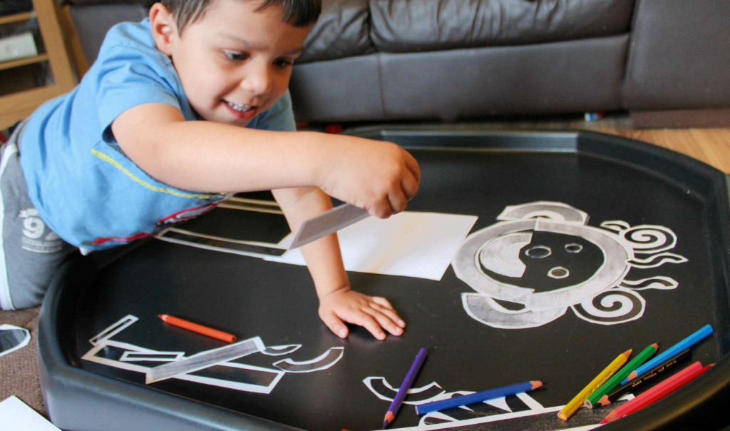 pre-writing skills how to help a child draw a person