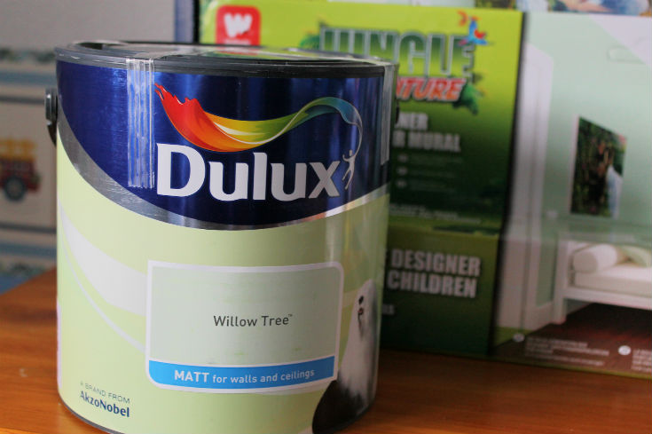 dulux willow tree paint