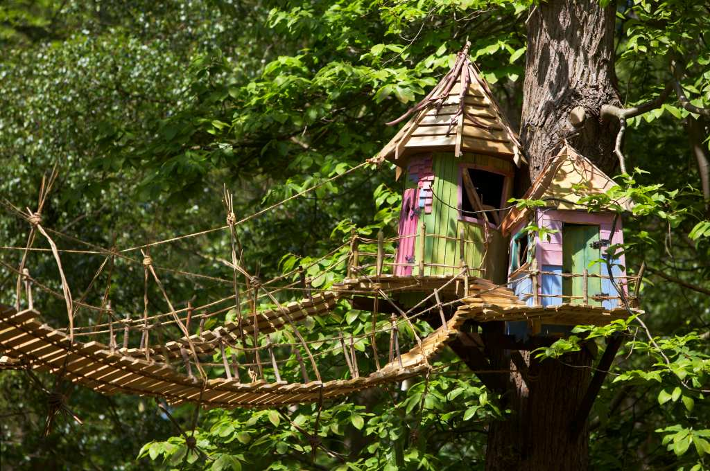 treehouses at BeWILDerwood