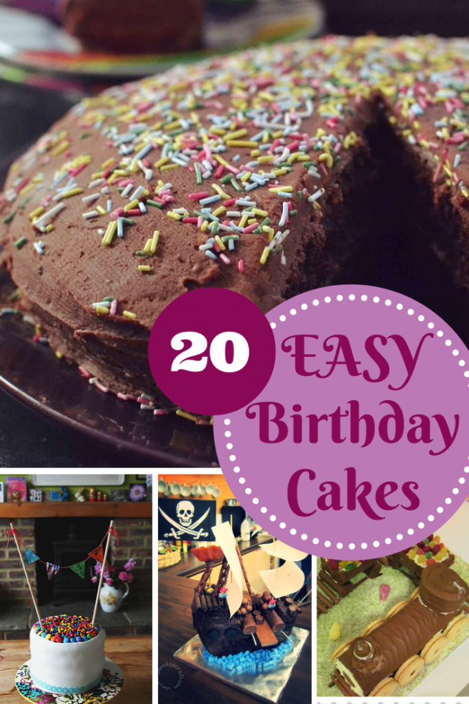 20 easy birthday cake recipes