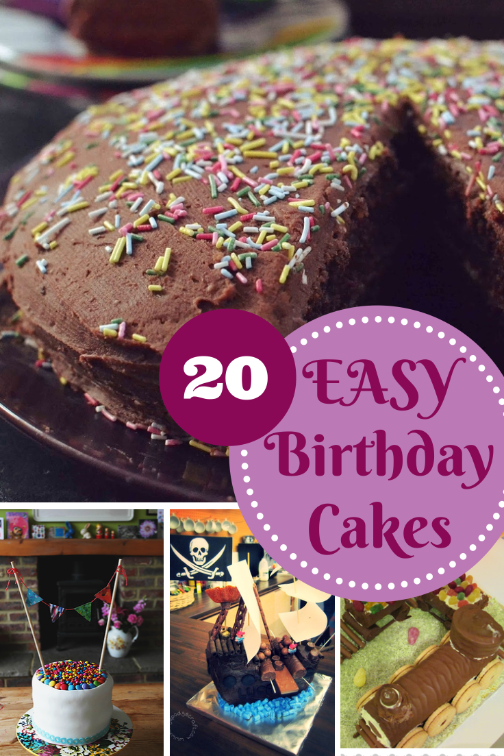 Cool Easy Birthday Cake Recipes In The Playroom Personalised Birthday Cards Paralily Jamesorg