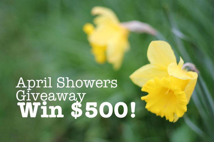 april showers cash giveaway