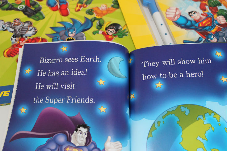 dc super friends early reader hero havoc