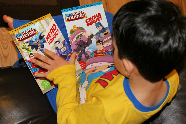DC Super Friends Early Reader books