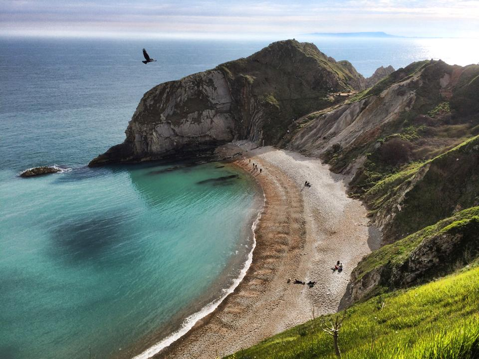 durdle door jurassic coastline