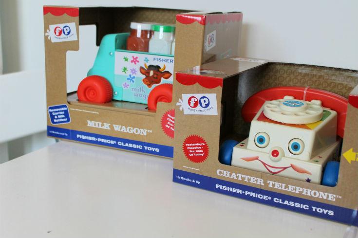 fisher price classics range toys
