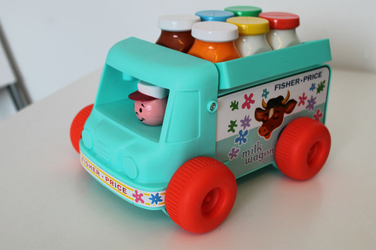 fisher price classics milk truck
