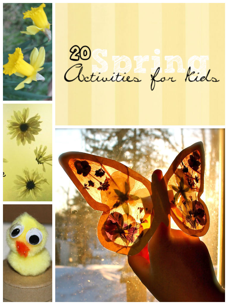 spring activities for kids in the playroom