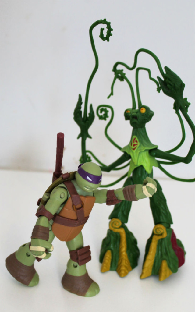 Nickelodeon Teenage Mutant Ninja Turtles Snakeweed and Spider - Walmart.com  - Walmart.com | 1024x640