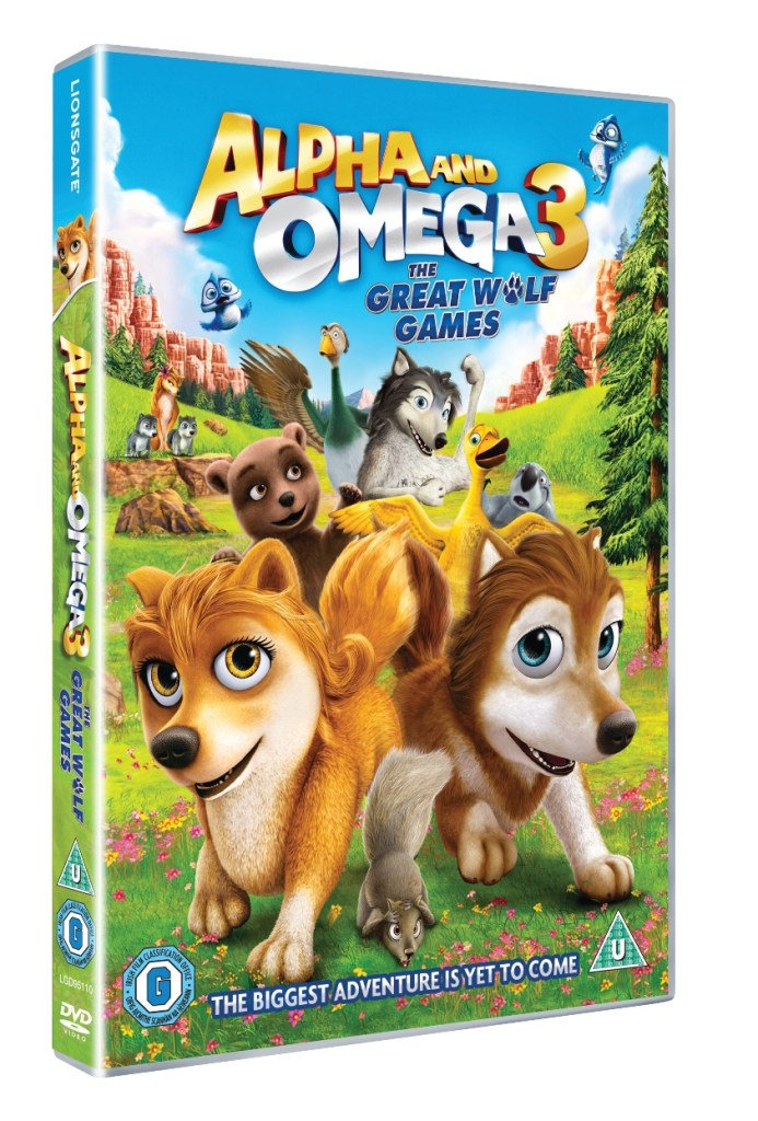 Alpha & Omega 3 The Great Wolf Games