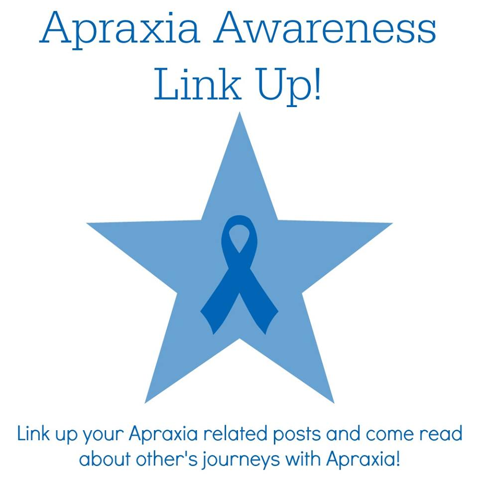 What is Verbal Dyspraxia? Find out with the Apraxia Awareness link up