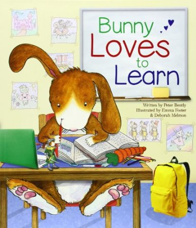 Bunny loves to learn parragon books