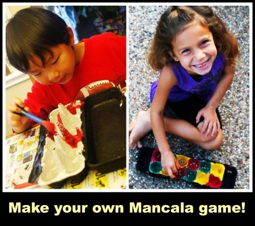 make your own mancala game craft for kids