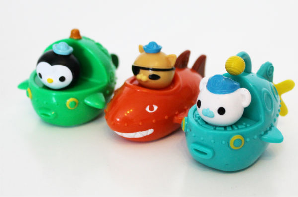 octonauts mini gup speeders