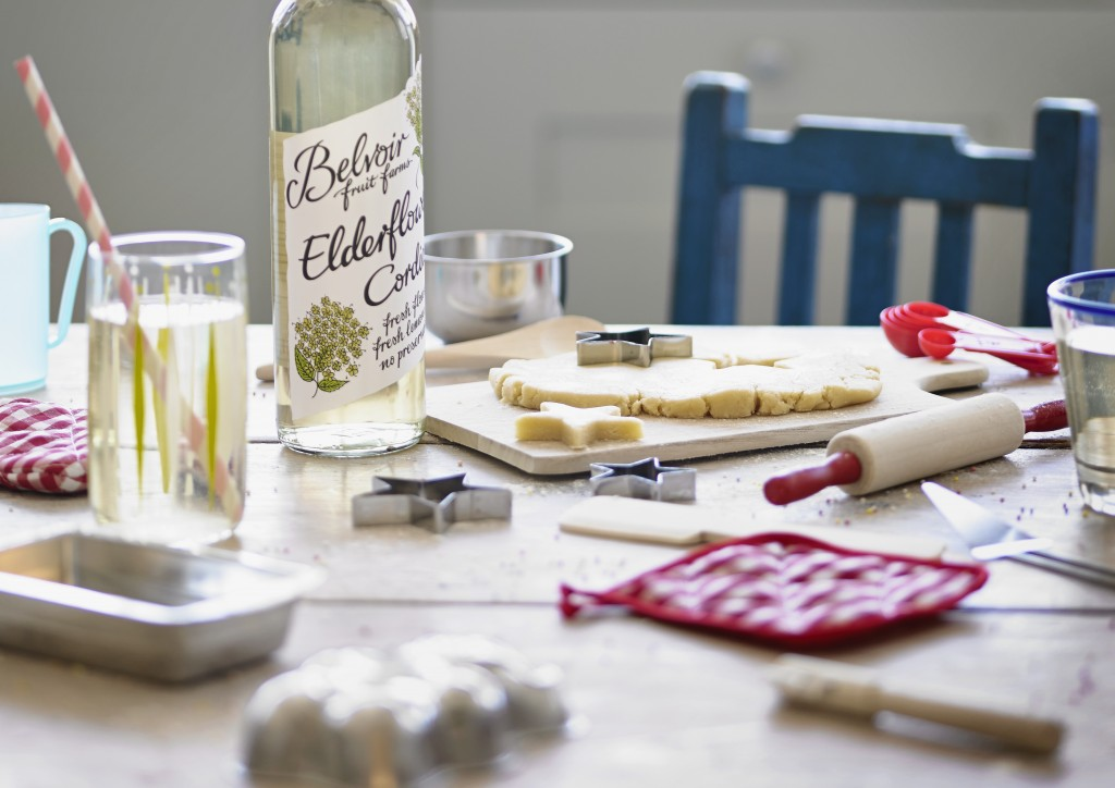 Win Belvoir fruit farms elderflower cordial and baking set with intheplayroom.co.uk - Check out the elderflower recipes which are available
