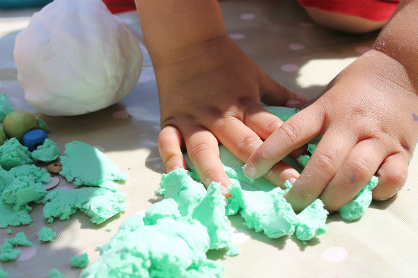 learning through play with sensory play