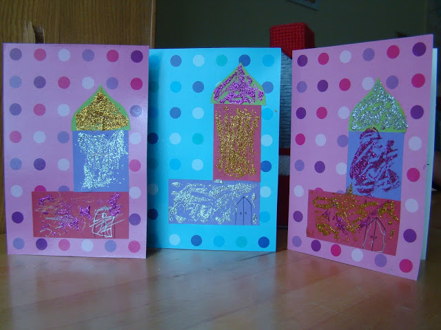 making cards mosque craft