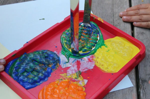 potato masher bubble paint