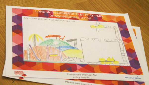 win with london designer outlet and make a wish - design your own play park