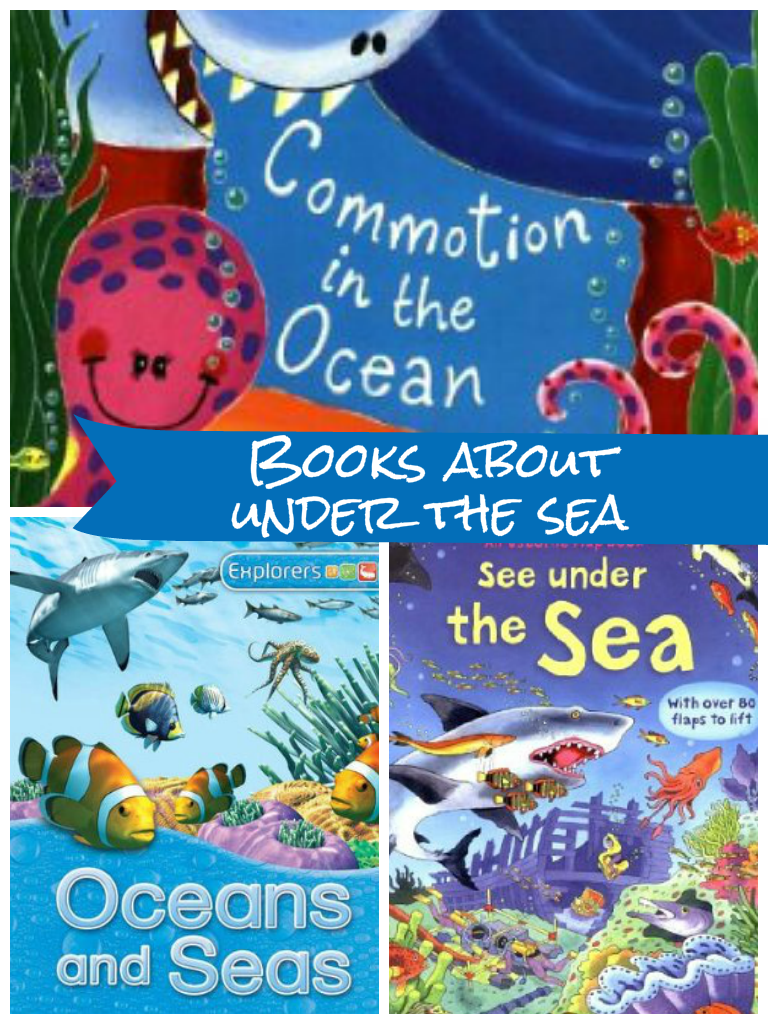 books about dolphins, oceans and under the sea