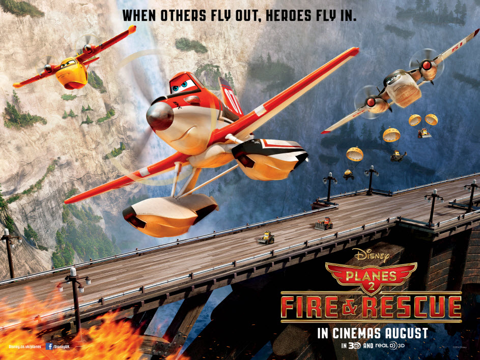 Disney Planes 2 Fire & Rescue