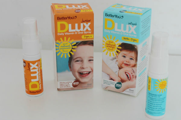 DLux vitamin d oral spray for kids