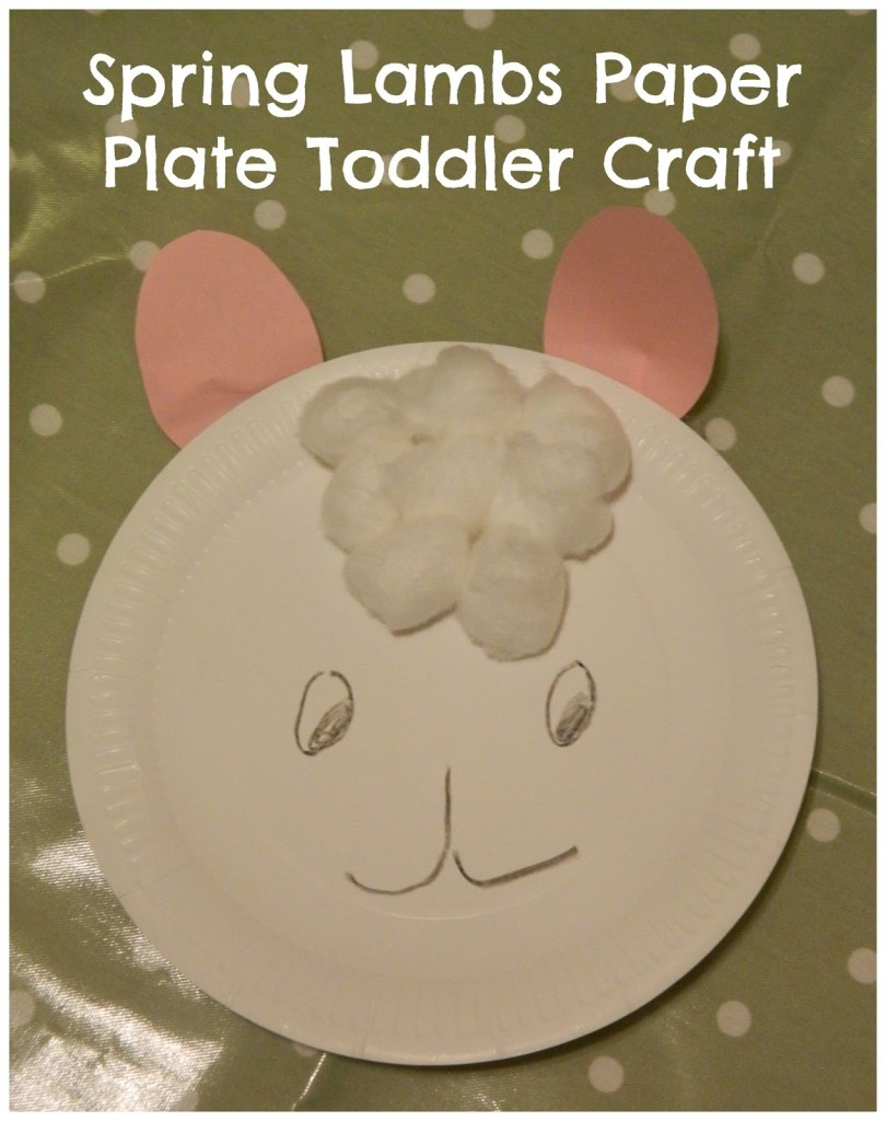 Paper Plate Lambs