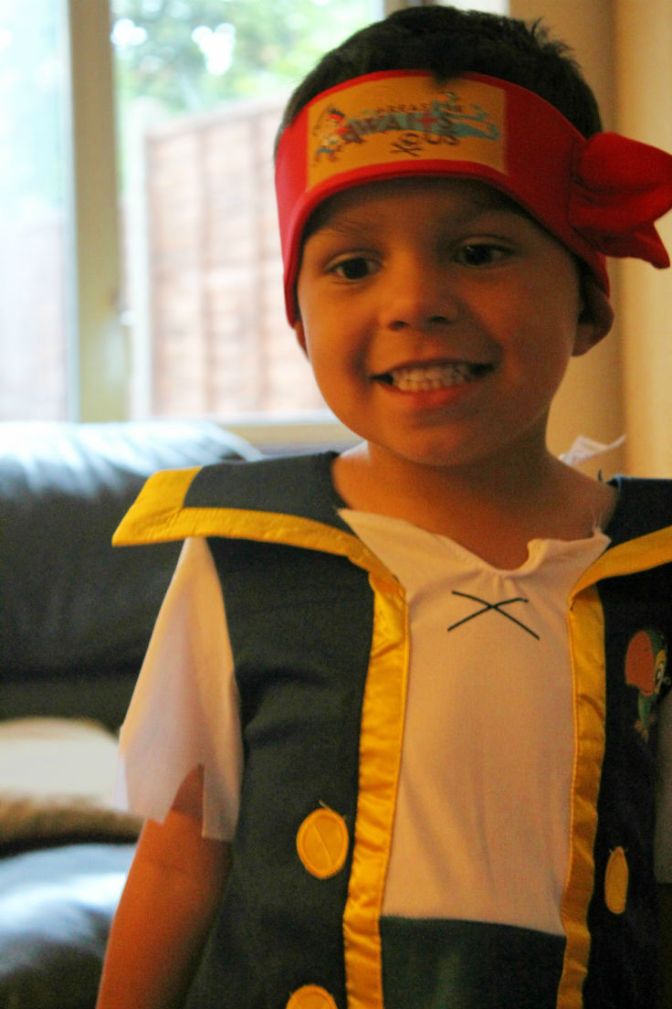 jake and the neverland pirates costume