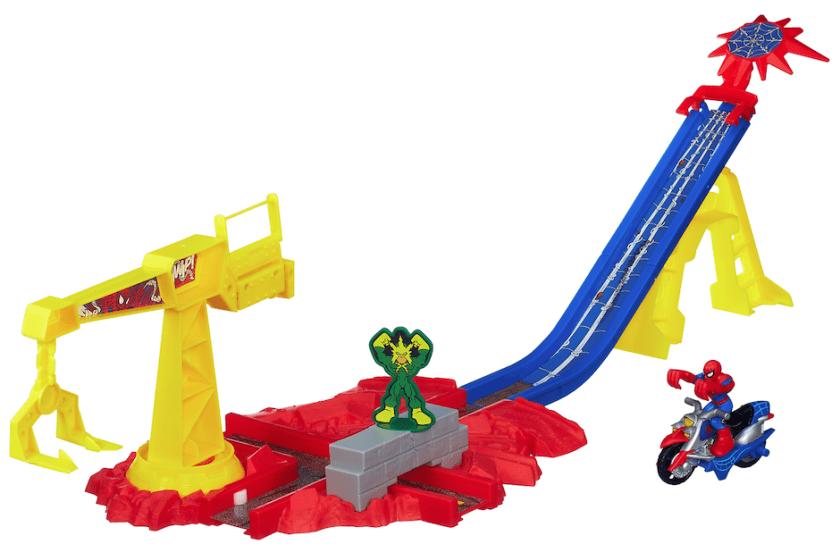 Playskool Heroes Spider-Man Crane Capture toy