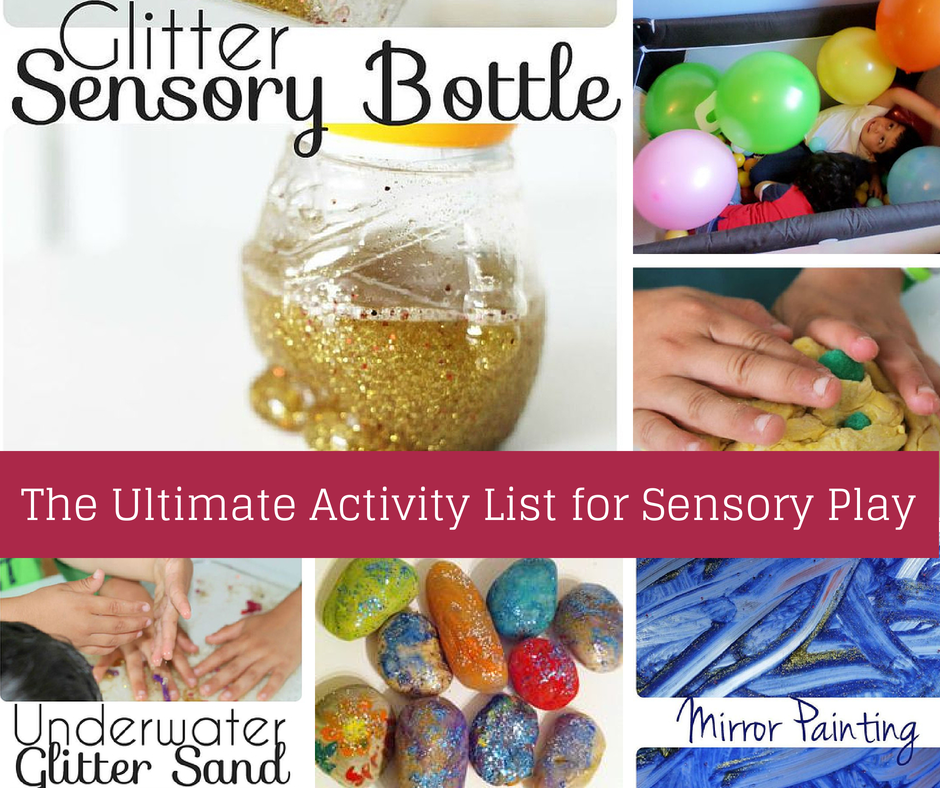 Ultimate activity list for sensory play