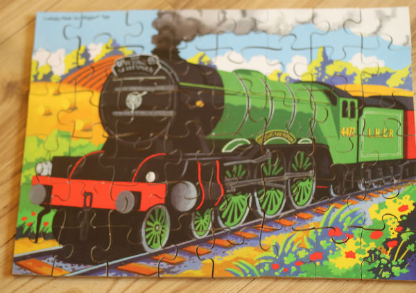 bigjigs wooden flying scotsman puzzle