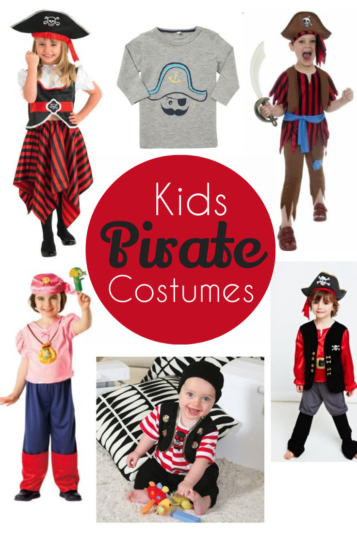 Pirate Costumes For Kids In The Playroom