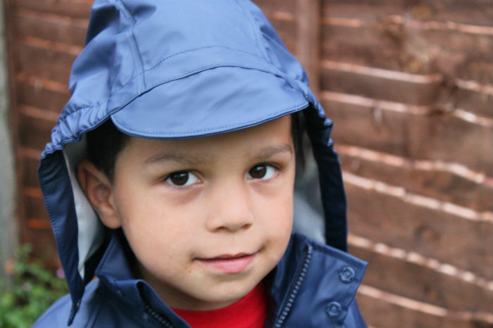 kozi kidz rainwear with hood