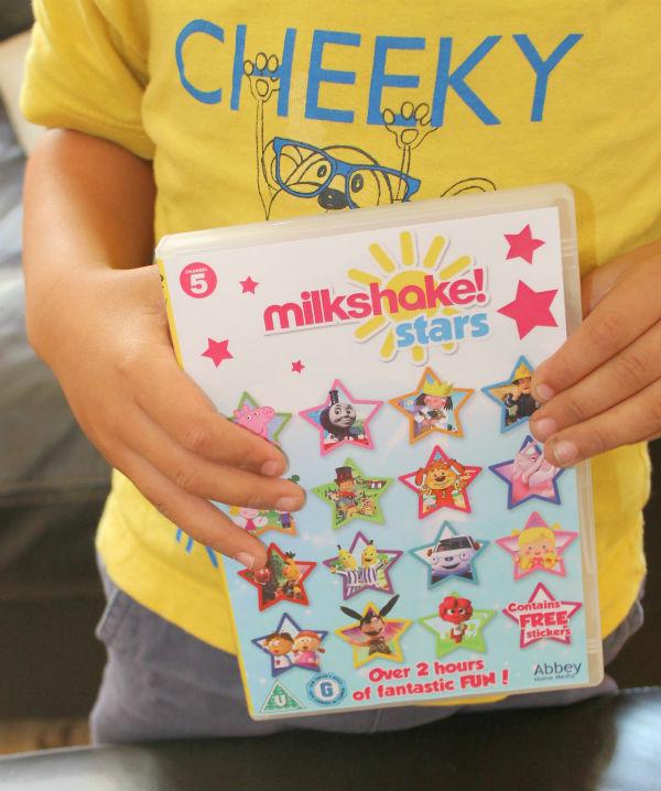 milkshake! stars dvd