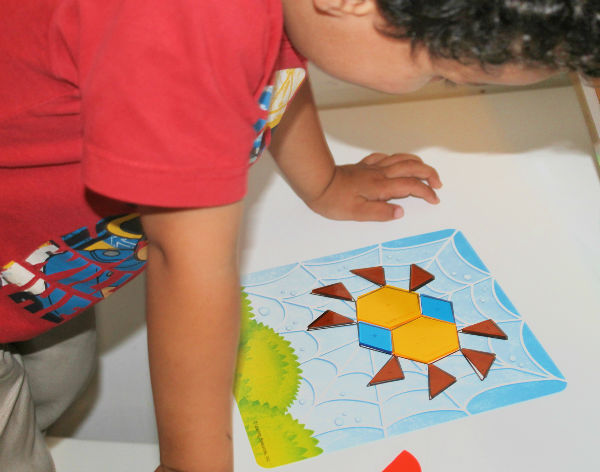 spider shapes activity