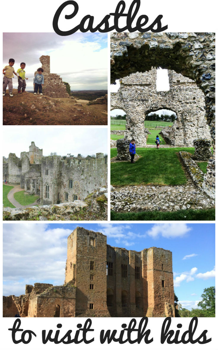 castles and ruins to visit with kids, in the UK