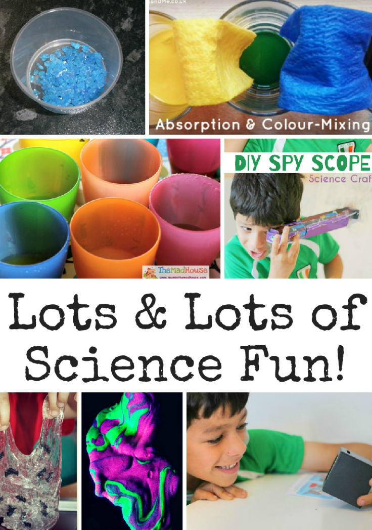 Lots and lots of Science fun. Great kids science activities featured on pintorials!