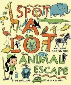 Spot a lot animal escape book