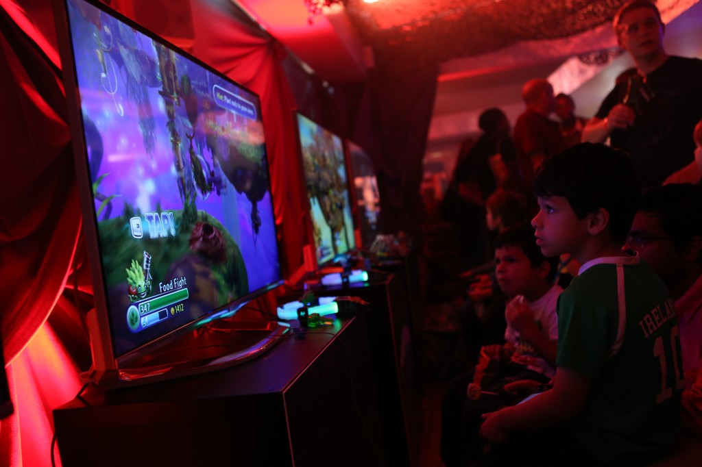 Skylanders Trap Team launch at Royal Festival Hall, London, Britain on 5 Oct 2014