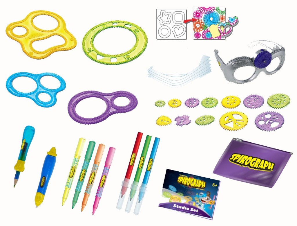 Spirograph Studio Set Contents